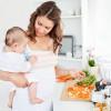 Рацион питания кормящей мамы новорожденного. Питаемся вместе с ребенком правильно