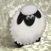 Новогодние открытки с овечками