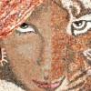 Поделки из мозаики.