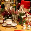 Как украсить стол на новый 2018 год