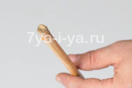 как сделать лук из дерева