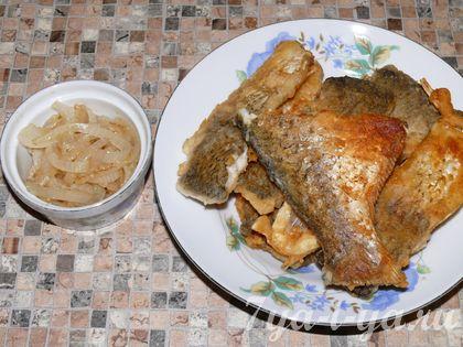рецепт жаренного леща
