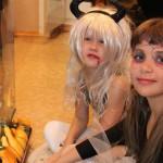 Для девочек макияж на Хэллоуин