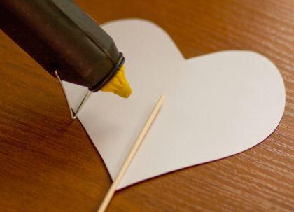 шпажка сердечко