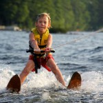 Кататься на водных лыжах
