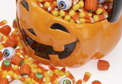 конфеты на хеллоуин