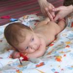 Массаж новорожденным в домашних условиях