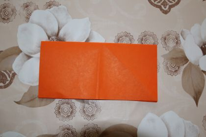 оригами сердечко