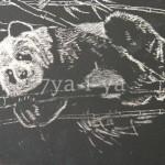 Рисование граттаж