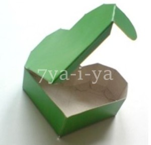 Оригами из бумаги коробочка сердечко