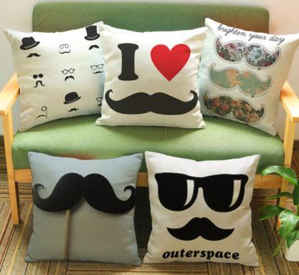 усы на диване
