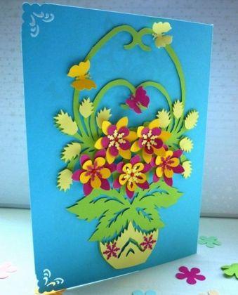 открытки на 8 марта маме