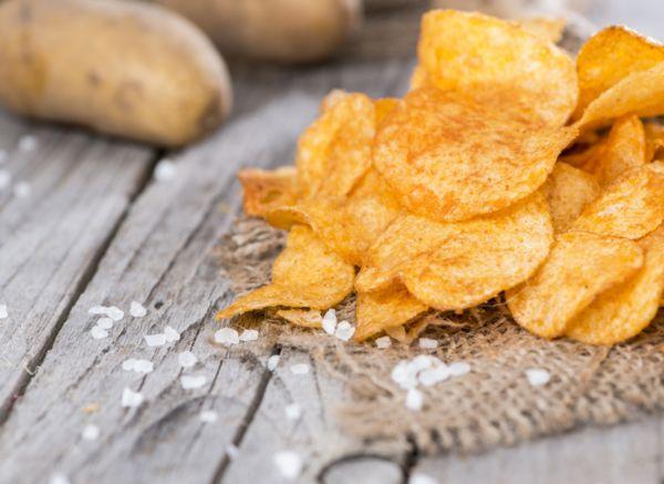 рецепт чипсов в духовке без масла