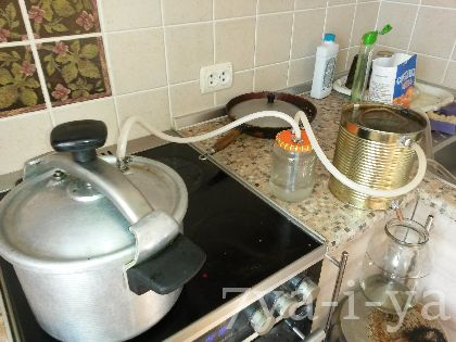 Как сделать домашний самогонный аппарат