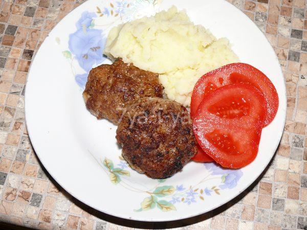 приготовление котлет из говядины