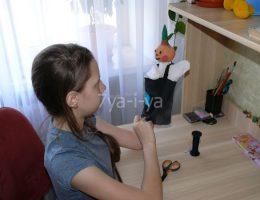 кукла одеваемая на руку