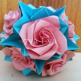 Кусудама роза