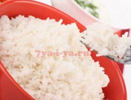 Как приготовить отварной рис