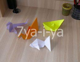оригами простые схемы для начинающих