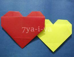 Оригами сердечко из бумаги