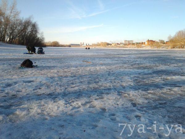 Ловля уклейки зимой